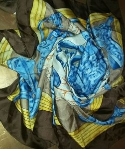 New Hermes Scarf 34x34 Large Silk